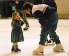 Ice skate coaching at the Crowtree Leisure Centre, Sunderland. Photo: David T. Hewitson/Sports for All Pics