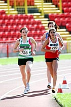 728 Rachel Lungren and 721 Phillipa Williams, North East Championships, Gateshead
