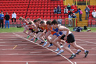 The stat of the 1500 metres, 2011 North East Champs, Gateshead