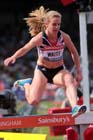 Lennie Waite (GB) 3000 metres steeplechase at the IAAF Diamond League, Birmingham.