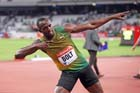Usain Bolt, 100 metres,  2013 IAAF Diamond League, Sainsbury's Anniversary Games, Queen Elizabeth Olympic Park, London.
