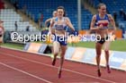 Laura Weightman (Morpeth) on her way to victory beating Laura Muir ((Dundee Hawkhill) 1500 metres, 2014 Sainsbury's British Championships. Photo: David T. Hewitson/Sports for All Pics
