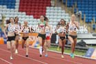 Lynsey Sharp (Edinburgh) on her way to victory in the 800 metres, 2014 Sainsbury's British Championships. Photo: David T. Hewitson/Sports for All Pics