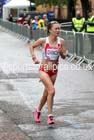 Alyson Dixon (England) in the 2014 Commonwealth Games Womens Marathon. Photo: David T. Hewitson/Sports for All Pics