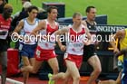Tom Farrell and Andy Vernon (both England) in the 5000 metres, 2014 Commonwealth Marathon, Glasgow. Photo: David T. Hewitson/Sports for All Pics