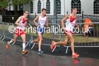 Nicholas Torry, Steven Way (both England) and Derek Hawkins Commonwealth Games Marathon, Glasgow. Photo: David T. Hewitson/Sports for All Pics