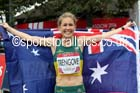 Jess Trengove (Australia) 3rd in the womens Commonwealth Games Marathon, Glasgow. Photo: David T. Hewitson/Sports for All Pics