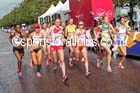 Start of the womens Commonwealth Games Marathon, Glasgow. Photo: David T. Hewitson/Sports for All Pics