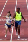 Libby Clegg (Scotland) wins her heat of the womens Para-Sport 100 metres T11and12  at the Commonwealth Games, Glasgow. Photo: David T. Hewitson/Sports for All Pics