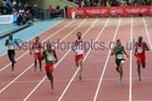 Kirani James (Grenada) wins the 400 metres at the Commonwealth Games, Glasgow. Photo: David T. Hewitson/Sports for All Pics