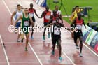 Nijel Amos (Botswana) wins the 800 metres at the Commonwealth Games, Glasgow. Photo: David T. Hewitson/Sports for All Pics