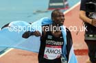 Nijel Amos (Botswana) after winning the 800 metres at the Commonwealth Games, Glasgow. Photo: David T. Hewitson/Sports for All Pics
