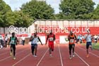 Inter boys 100 metres, 2015 English Schools, Gateshead. Photo: David T. Hewitson/Sports for All Pics