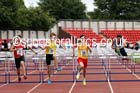 Inter boys 100 metres hurdles, 2015 English Schools, Gateshead. Photo: David T. Hewitson/Sports for All Pics