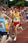 Inter boys 3000 metres, 2015 English Schools, Gateshead. Photo: David T. Hewitson/Sports for All Pics