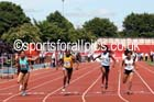 Inter girls 100 metres, 2015 English Schools, Gateshead. Photo: David T. Hewitson/Sports for All Pics