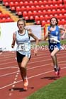 Inter girls 3000 metres, 2015 English Schools, Gateshead. Photo: David T. Hewitson/Sports for All Pics