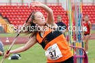 Inter girls javelin, 2015 English Schools Track and Field Champs., Gateshead Stadium. Photo: David T. Hewitson/Sports for All Pics