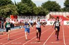 Junior boys 100 metres, 2015 English Schools Track and Field Champs., Gateshead Stadium. Photo: David T. Hewitson/Sports for All Pics
