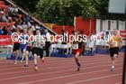 Junior boys 300 metres, 2015 English Schools Track and Field Champs., Gateshead Stadium. Photo: David T. Hewitson/Sports for All Pics