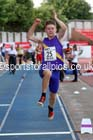 Junior boys long jump, 2015 English Schools Track and Field Champs., Gateshead Stadium. Photo: David T. Hewitson/Sports for All Pics