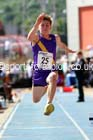 Junior boys triple jump, 2015 English Schools Track and Field Champs., Gateshead Stadium. Photo: David T. Hewitson/Sports for All Pics