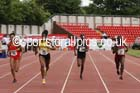 Junior girls 200 metres, 2015 English Schools Track and Field Champs., Gateshead Stadium. Photo: David T. Hewitson/Sports for All Pics