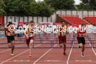 Senior boys 110 metres hurdles, 2015 English Schools, Gateshead. Photo: David T. Hewitson/Sports for All Pics