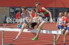 Senior boys 2000 metres steeplechase, 2015 English Schools, Gateshead. Photo: David T. Hewitson/Sports for All Pics