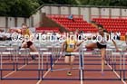 Senior girls 100 metres hurdles, 2015 English Schools, Gateshead. Photo: David T. Hewitson/Sports for All Pics