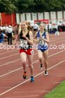 Senior girls 1500 metres steeplechase, 2015 English Schools, Gateshead. Photo: David T. Hewitson/Sports for All Pics