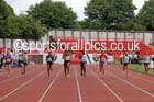 Senior girls 200 metres, 2015 English Schools, Gateshead. Photo: David T. Hewitson/Sports for All Pics