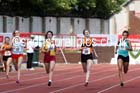 Senior girls 400 metres, 2015 English Schools, Gateshead. Photo: David T. Hewitson/Sports for All Pics