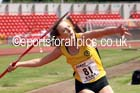 Senior girls javelin, 2015 English Schools, Gateshead. Photo: David T. Hewitson/Sports for All Pics