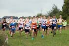 Mens under-17s Start Fitness North Eastern Harrier League, Tanfield, County Durham. Photo: David T. Hewitson/Sports for All Pics