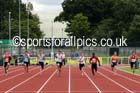 Under-15 boys 100 metres. Photo: David T. Hewitson/Sports for All Pics