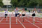 Under-15 boys 80 metres hurdles. Photo: David T. Hewitson/Sports for All Pics