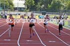 Under-13 girls 100 metres. Photo: David T. Hewitson/Sports for All Pics