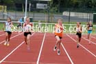 Under-13 girls 200 metres. Photo: David T. Hewitson/Sports for All Pics