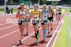 Under-15 girls 1500 metres. Photo: David T. Hewitson/Sports for All Pics