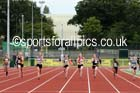 Under-15 girls 200 metres. Photo: David T. Hewitson/Sports for All Pics