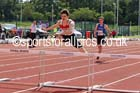 Under-17 mens 400 metres hurdles. Photo: David T. Hewitson/Sports for All Pics
