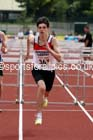 Under-17 mens 100 metres hurdles. Photo: David T. Hewitson/Sports for All Pics