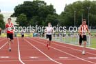 Under-17 mens 400 metres. Photo: David T. Hewitson/Sports for All Pics