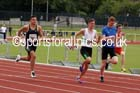 Under-17 mens 100 metres. Photo: David T. Hewitson/Sports for All Pics