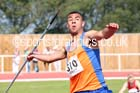 Under-17 mens javelin. Photo: David T. Hewitson/Sports for All Pics