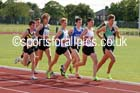 Under-20 mens 3000 metres. Photo: David T. Hewitson/Sports for All Pics