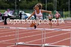 Under-17 womens 300 metres hurdles. Photo: David T. Hewitson/Sports for All Pics