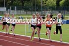 Under-17 womens 1500 metres. Photo: David T. Hewitson/Sports for All Pics