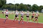 Under-17 womens 100 metres. Photo: David T. Hewitson/Sports for All Pics